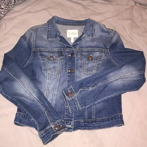 Jessica Simpson Jean jacket size Large